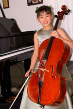 Sarina Zhang  performing at Weill Recital Hall at Carnegie Hall
