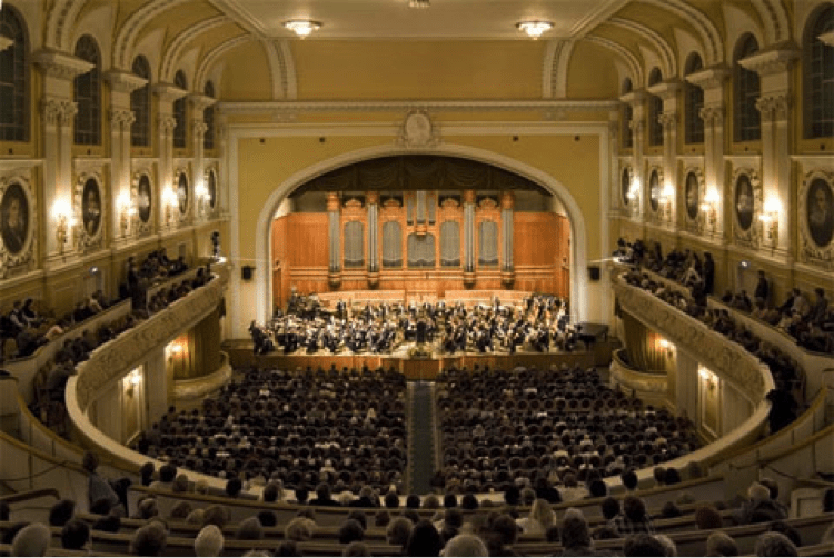 Moscow - Moscow Conservatory - Great Hall