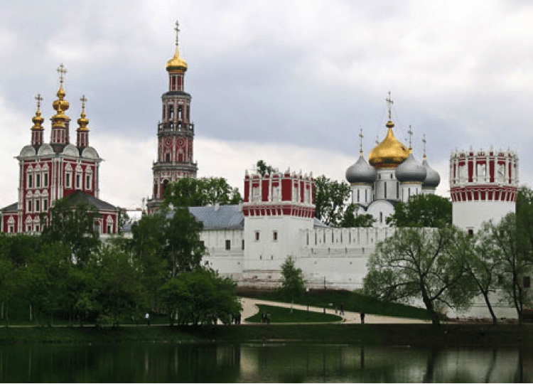 Moscow - Novodevichy Convent, a World Heritage Site